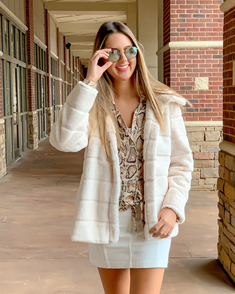 Blush Hour Coat
