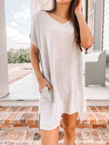 Gauze Pocket Dress