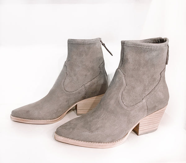 SHANTA BOOTIES IN ANTHRACITE