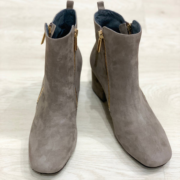 Hail Taupe Bootie