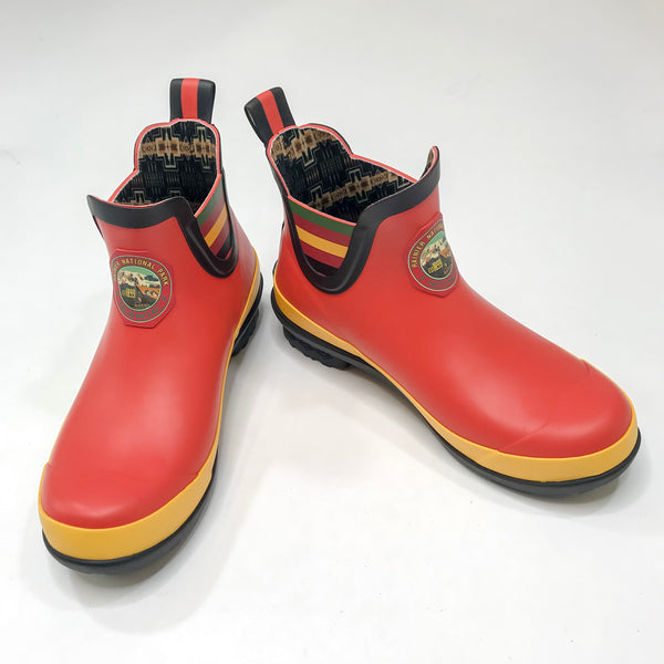 Mt. Rainer Red Chelsea Boot