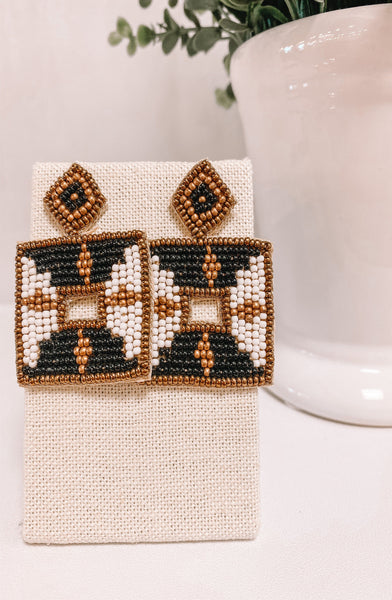 Squared Up Statement Earrings