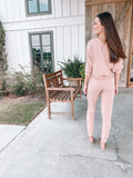 The Butter Slouch Top - Light Pink
