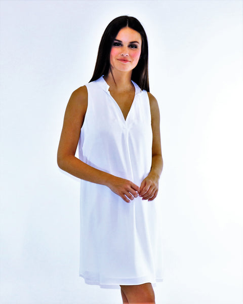 Summer White Ease Dress