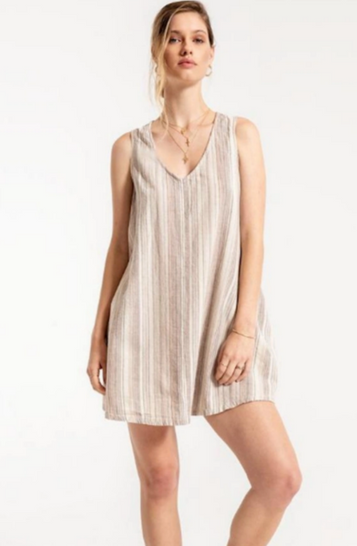 V-Neck Racer Dress