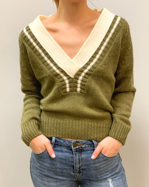 Take the Plunge Sweater