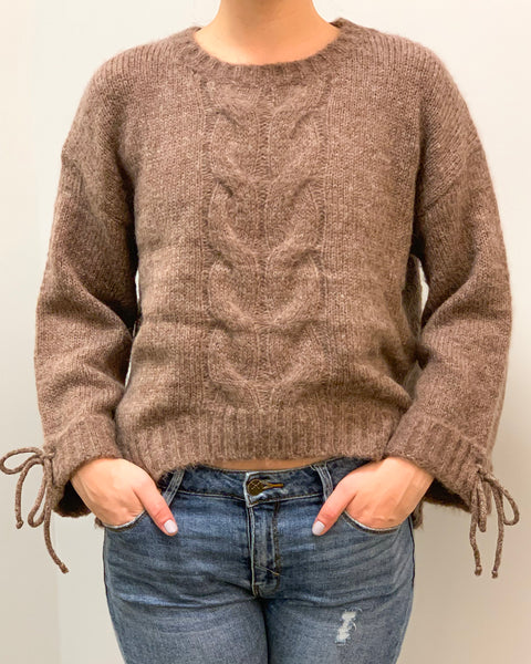 Perfectly Tied Sweater