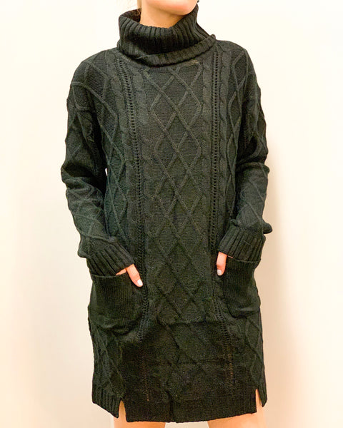 Knit Off Sweater Dress