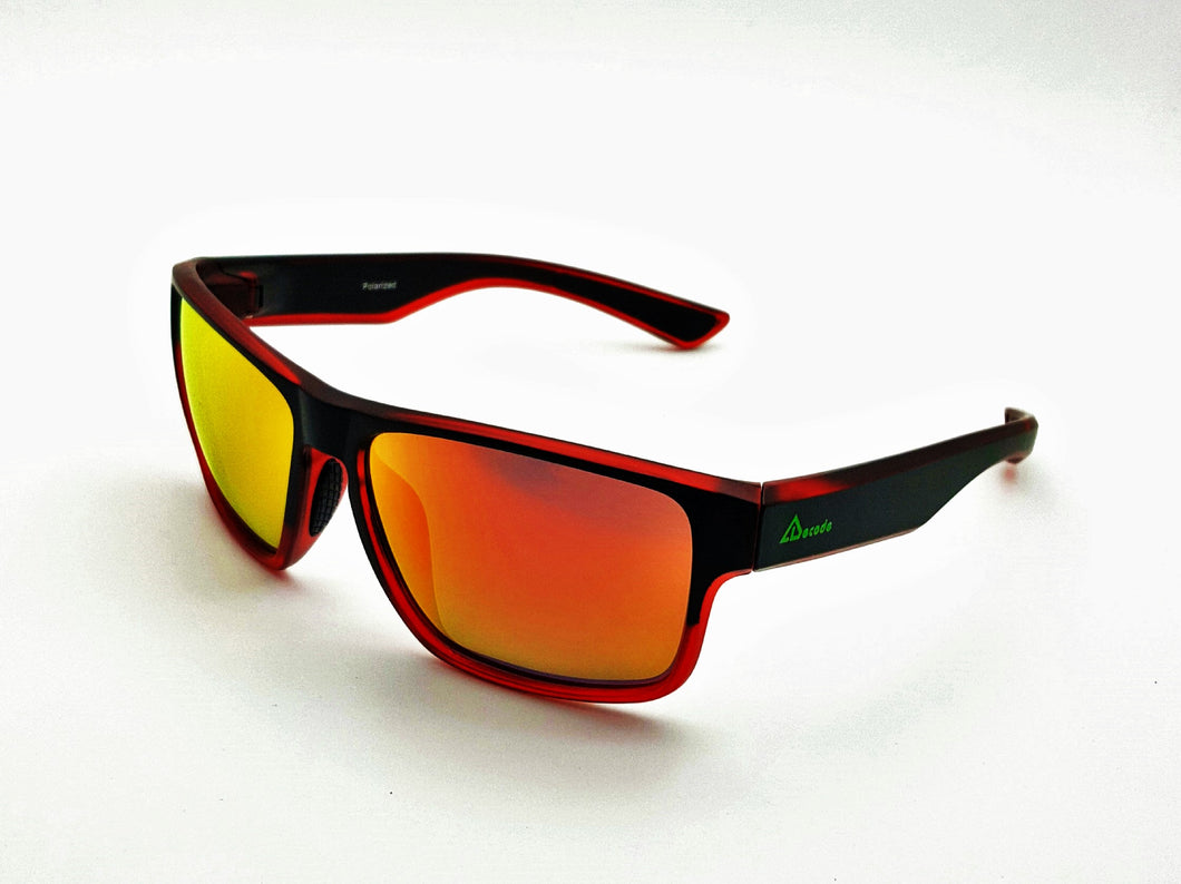 ESG-02RED HD Polarized Sunglass(Wayfarer)