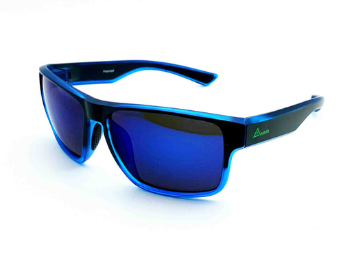 ESG-02 BLUE HD Polarized Sunglass(Wayfarer)