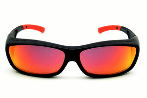 ESG-01 RED HD Polarized Sunglass(Fits Over Wrap)