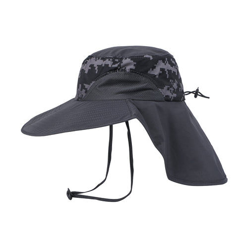 EJH-02 UV50+ Sun Hat (Big Brim/Detachable Back Flap)