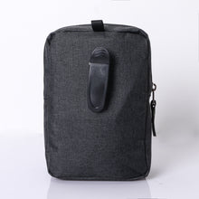 MPO-05(BLACK) 3 Zippered Compartment Pouch