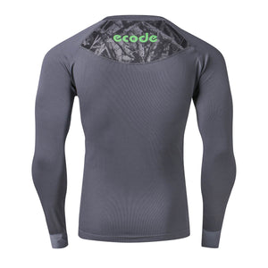 ECODE LONG SLEEVE  MICRO FABRIC TEE