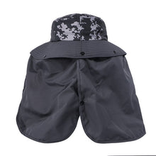 EJH-03 UV50+ Sun Hat (Big Brim/Detachable Back Flap)