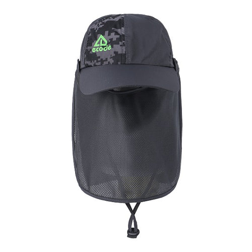 EJH-05 UV50+ Sun Hat (Legion Cap/Detachable Face & Back Flap)