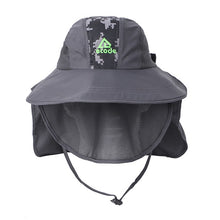 EJH-06 UV50+ Sun Hat (Half Brim/Detachable Face Flap)