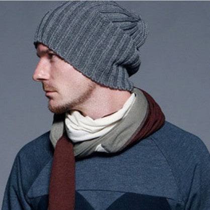 2017 Autumn and winter Fashion male bars autumn and winter knitting hat
