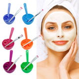 1Set New 4 in1 Makeup Beauty DIY Facial Face Mask Bowl