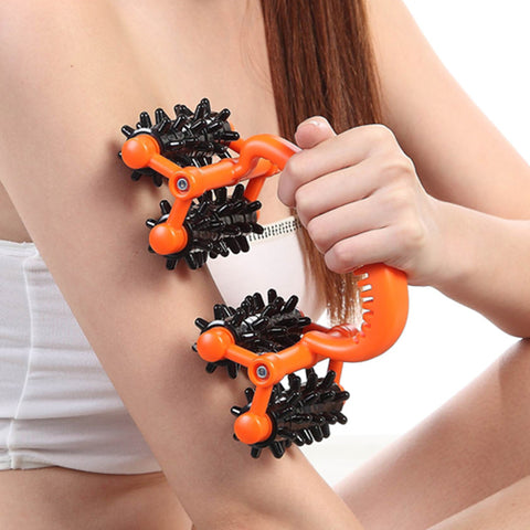 Body massager device skin roller for slimming