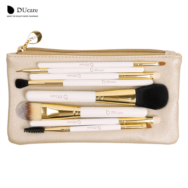 DUcare Professional Makeup Brush Set - 8pcs