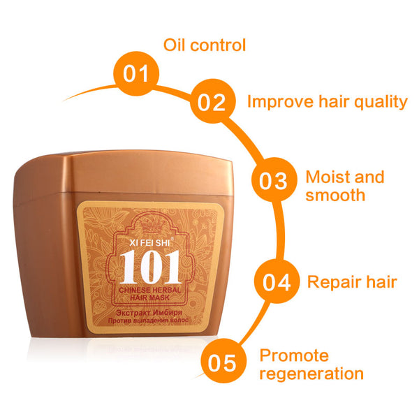 New Brand 101 Hair Conditioner 280ML Hair Care Professional Herbal Ginger Nourishing Hair Mask