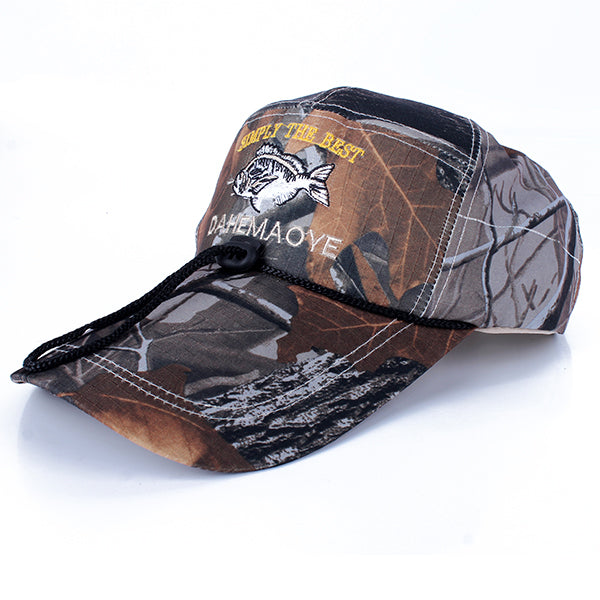 Camo Cap Men Adjustable Army Baseball Camouflage Fishing Hat