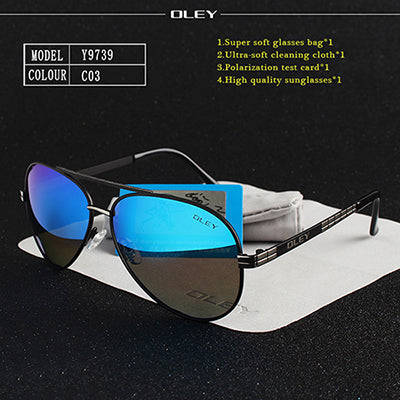 OLEY Brand High Quality Men's Sunglasses