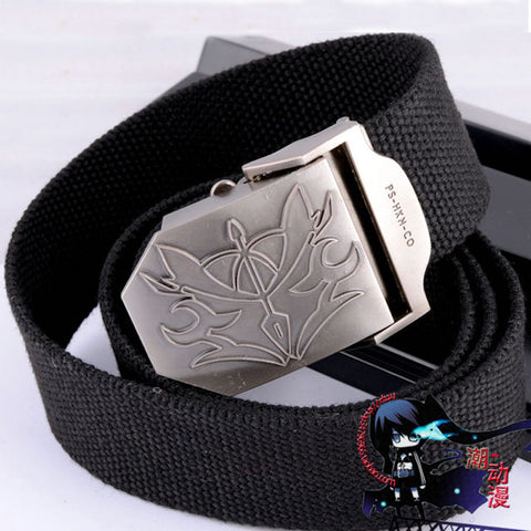 SALE Fate Stay Night Belt 3D buckle black