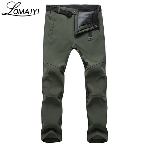 LOMAIYI Stretch Waterproof Casual Pants