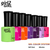 High Quality girl2GIRL Factory 60 Beauty lac Colors 9 ml