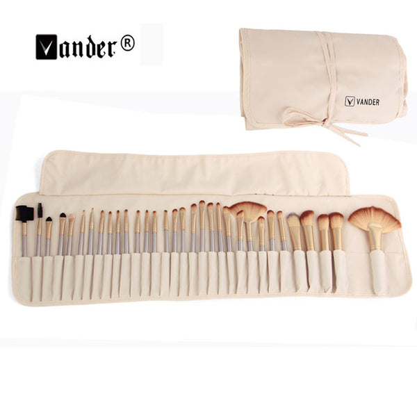 32Pcs Professional Cosmetic with Make-up Brush Bag