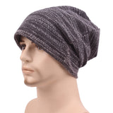 Autumn Spring Men Knitted Winter Cap For Men