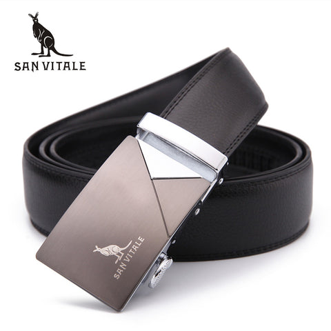 Mens Genuine Leather Designer Belt