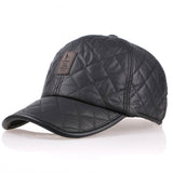 Thicker Men's Baseball Cap With Ear flaps