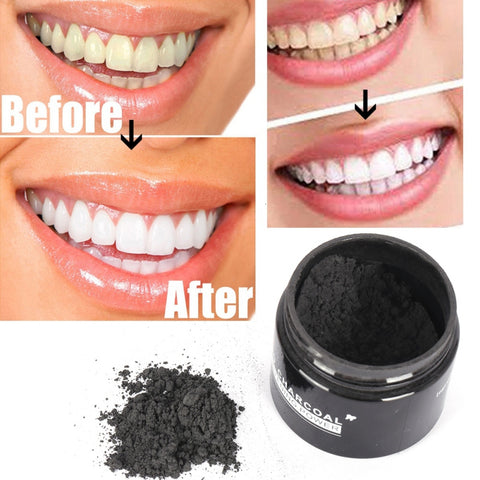 Teeth Whitening Powder - Bamboo Activated Charcoal Powder
