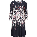 MOQUEEN Vintage Winter Dress Ladies O-Neck