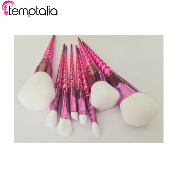 Professional 8 Pcs Unicorn Makeup Brushes