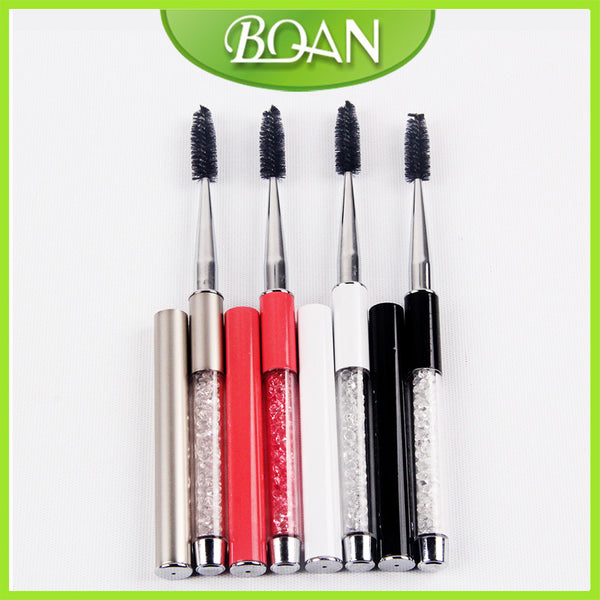 4 Color Eyelashes Brush Eyebrow Comb