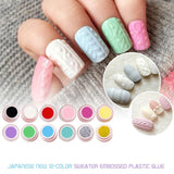 Lady 3D Nail Art Gel Beauty Finger Beauty Charm Painting