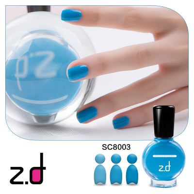 ZD Peel Off Nail Polish 15ml Long Lasting Quick Dry