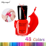 Lily angel 8ml Colorful Waterborne Nail polish Gel