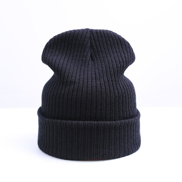 New Winter Hat Solid Warm hat For Men