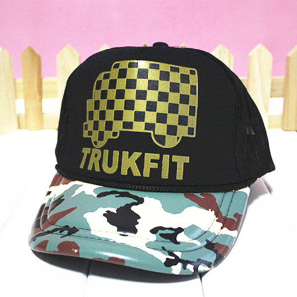 Letter Printing Hats Summer Baseball Caps Hip Hop Hats