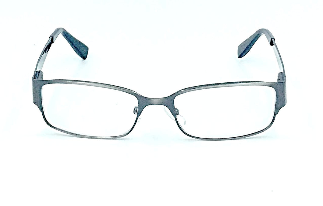 George Clear Fashion Readers - Gunmetal