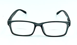 Madison Clear Bifocals - Black