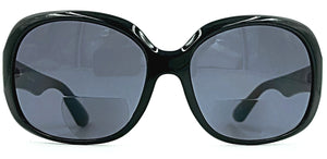 Gisele Bifocal Sun Readers - Smoke