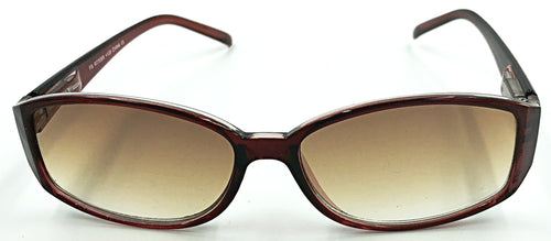 Lindsay Sun Reader - Brown Front View