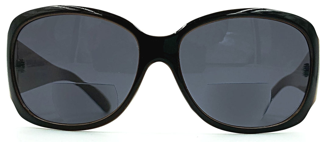 Keira Bi-Focal Sun Readers - Dark Brown