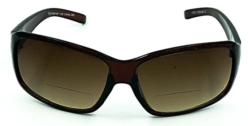 Paris Bifocal Sun Readers - Brown